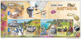 Australia 2012 Road Trip Miniature Sheet MNH - 2000-09 Elizabeth II