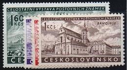 1958 Czechoslovakia MNH - Mi 1097-1100 ** MNH - Cecoslovacchia