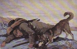 AK Sanitätshund Beim Auffinden Eines Verwundeten - Verein Für Sanitätshunde Oldenburg - Soldat Hund - 1. WK (45430) - Weltkrieg 1914-18