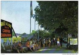 """Carte Postale 85. Saint-Hilaire-de-Riez Camping """"Riez à La Vie"""" Trés Beau Plan - Saint Hilaire De Riez"""