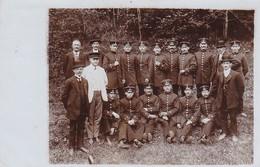 AK Foto Gruppe Deutsche Soldaten - Altenburg 1914 (45437) - Weltkrieg 1914-18