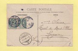 Type Blanc - Destination Suisse - Daguin Nancy Gare - 3-1-1905 - Marcophilie (Lettres)