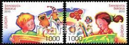 Belarus - 2010 - Europa CEPT, Children Books - Mint Stamp Set - Bielorussia