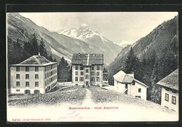 AK Maderanerthal, Hotel Alpenclub - UR Uri