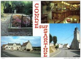 Carte Postale 61. Condé-sur-Sarthe Trés Beau Plan - Francia