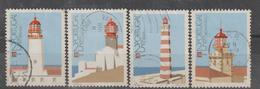 PORTUGAL CE AFINSA 1803/1806 - SERIE USADA - 1910-... Republic