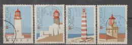 PORTUGAL CE AFINSA 1803/1806 - SERIE USADA - 1910-... Republiek
