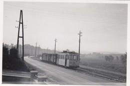 SNCB Andenne - Tram Art.63 (entre Andenne Et Bierwart) - Petit Photo 8 X 5,5 Cm - Pas Carte Postale - Andenne