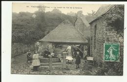 61 - Orne - Tinchebray - Le Lavoir Du Val De La Fontaine - Lavandières - Animée - - Autres Communes