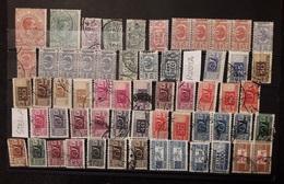 Italia 1884 - 1979 Lotto Pacchi Postali 59 Valori - Lotti E Collezioni