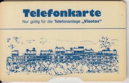 GERMANY - Visotax Magnetic Phonecard, Used - Allemagne