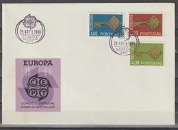 PORTUGAL CE AFINSA 1022/1024 - FDC - 1910-... República