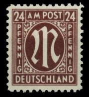 BIZONE AM-POST Nr 27Az Postfrisch X765016 - Zona Anglo-Américan