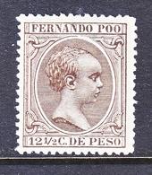 FERNANDO  POO  26   Fault   * - Fernando Po