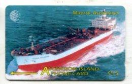 TK 14001 ASCENCION - 268CASB... Maersk Ascencion - Ascension (Insel)