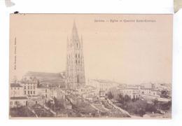 17 SAINTES Eglise Et Quartier Saint Eutrope - Saintes