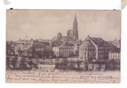 67 STRASSBURG STRASBOURG 1904 Blick Von Kaiserplatz Place Imperiale - Strasbourg