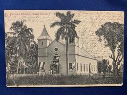 Postcard British Honduras/ Belize ( Catholic Church , Stann Creek ) - Belice
