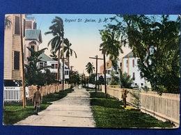 Postcard British Honduras/ Buy Bristish Goods Postmark ( 1926 ) - Belice