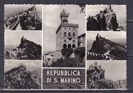 500k * SAN MARINO * IN 7 ANSICHTEN * MIT KLASSE FRANKATUR * 1960 **! - San Marino