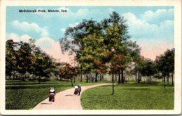 Indiana Muncie Scene In McCollough Park - Muncie