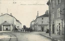 ". CPA FRANCE 87 ""Bellac, Avenue Denfert Rochereau"" - Bellac"