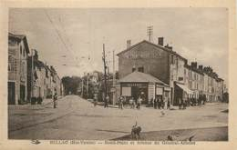 """. CPA FRANCE 87 """"Bellac,  Rond Point Et Avenue Du Général Arbelot"""" - Bellac"""