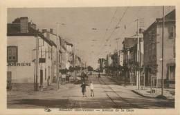 """. CPA FRANCE 87 """"Bellac,  Avenue De La Gare  """" - Bellac"""