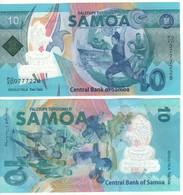 SAMOA New 10 Tala...(Pacifica Games 2019) Polimer - Samoa
