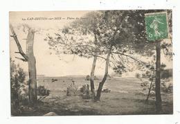 Cp, 40 , CAPBRETON , CAP-BRETON Sur MER ,plaine De BOURET ,voyagée 1921 - Capbreton