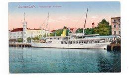 POLOGNE - SWINEMÜNDE - Dumpfschiffs Bollwerk - Bateau - 1920 (H140) - Pologne