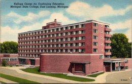 Michigan East Lansing Kellog Center Michigan State College Curteich - Lansing