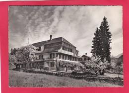 Modern Post Card Of Pension Alpenblick,Heimberg B/Thun Mit Niesen U.den Alpen,Berne,Switzerland,A42. - BE Berne