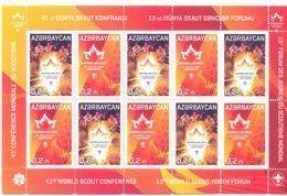 2017. Azerbaijan, 41th World Scout Conference & 13th World Scout Youth Forum, Sheetlet, Mint/** - Azerbaïjan