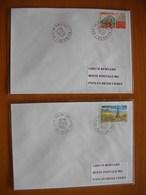 Réunion : Deux Plis De 1996 Avec Cachets De La Saline  Et De La Saline Les Bains - Réunion (1852-1975)