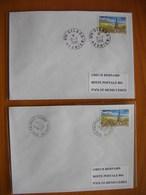 Réunion : Deux Plis De 1996 Avec Cachet Du Petit Bureau De La Cilaos  Et Du Petit Bureau De Palmiste-Rouge - Réunion (1852-1975)