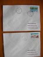 Réunion : Deux Plis De 1996 Avec Cachet Du Petit Bureau De Salazie Et De Hell-Bourg - Réunion (1852-1975)