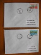 Réunion : Deux Plis De 1996 Avec Cachets De L'Etang-Salé   Et De L'Etang-Salé-les-Bains - Réunion (1852-1975)