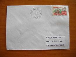 Réunion : Pli De 1996 Avec Cachets Du Petit Bureau Du Plate - Réunion (1852-1975)
