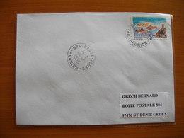 Réunion : Pli De 1996 Avec Cachets Du Petit Bureau De Basse-Terre - Réunion (1852-1975)