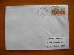 Réunion : Pli De 1996 Avec Cachets Du Petit Bureau De Beaufonds - Réunion (1852-1975)