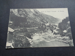 Suisse ( 338 )  Switserland  Svizzera  Sweiz  Zwitserland  :  Route De Viege à Zermatt  St Nicolas - Suisse