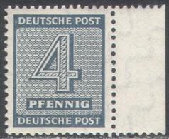 M2137.4 ✅ Defins War WW2 WWII Occupation SBZ 1945 West Saxony Germany 1v MNH ** 50ME Mi.217Xwb Gepruft - Soviet Zone