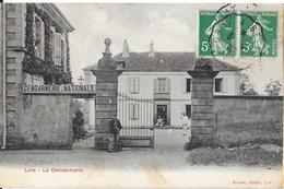 Lure (Haute-Saône) La Gendarmerie Nationale, La Grille - Edition Buisson (A. Berger) - Lure
