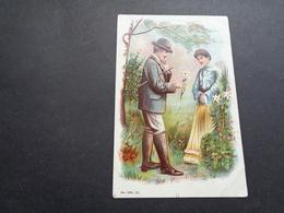 Couple ( 84 )  Koppel   Carte Gaufrée  Reliëf - Couples