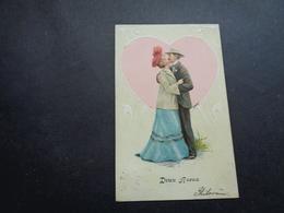 Couple ( 85 )  Koppel   Carte Gaufrée  Reliëf - Couples