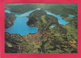 Modern Post Card Of Aerial View Of Malcesine,Lago Di Garda,Lombard Italy.A43. - Altre Città