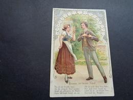 Couple ( 87 )  Koppel   Carte Gaufrée  Reliëf - Couples