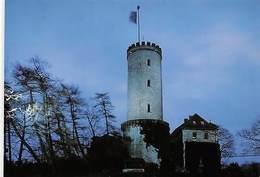 Bielefeld Stadt Am Teutoburger Wald Abendaufnahme Der Sparrenburg Turm Tower - Bielefeld