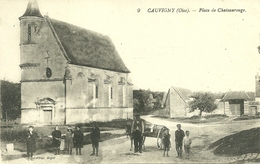60  CAUVIGNY - PLACE DE CHATEAUROUGE (ref 7010) - France